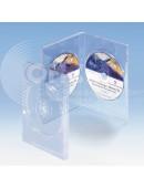 Zwei DVD Box transparent