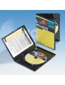 Drei DVD Box schwarz