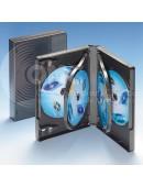 Sechs-DVD-Box schwarz