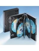 Acht-DVD-Box schwarz